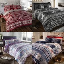 scandinavian bedding nordic fair isle scandinavian winter duvet