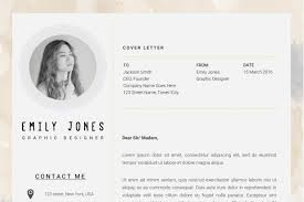 water color resume template cv cover letter by showy68template