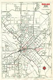 Traffic Map Dallas by Old Highway Maps Of Texas