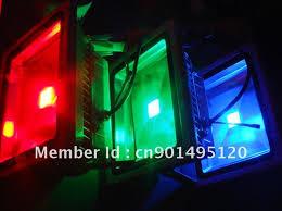 red led flood light 8pcs pack bsod 30w led flood light rgb white red green blue