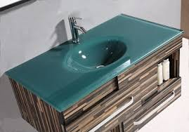 Glass Vanity Tops Homethangs Has Introduced A Guide To Tempered Glass Vanity Tops