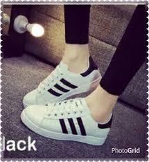 Sepatu Adidas Kets sepatu kets sneakers fashion adidas garis hitam fashiongram
