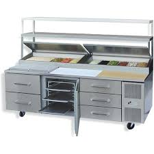 Stainless Steel Prep Table With Drawers Randell Commercial Prep Tables Unified Brands