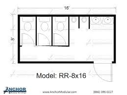 Floor Plan Standards Commercial Restroom Plan Portable Toilet Commercial Bathroom
