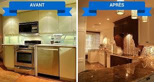 renover cuisine rénovation de cuisine armoires cuisines