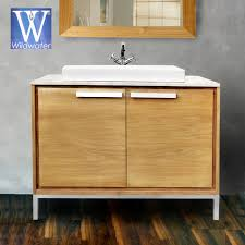 Teak Bathroom Vanity by Teak And Oak Bathroom Furniture The Ono Collection