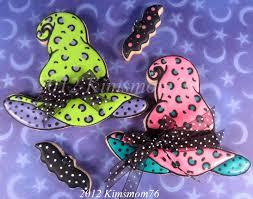 kimsmom76 halloween cookies for girly ghouls