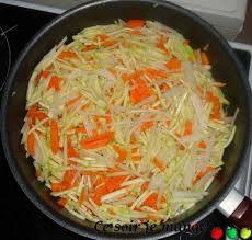 cuisiner le navet poêlée de courgettes carottes et navets ce soir je mange