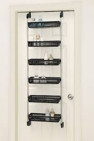 How To Organize A Pantry With Deep Shelves by Amazon Com Neu Home Basic Overdoor 6 Basket Unit Home U0026 Kitchen
