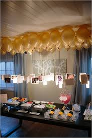 glamorous surprise backyard bridal shower photo balloons