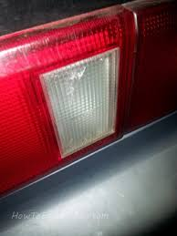 where can i get my tail light fixed how i fixed a cracked tail light howtoengineering com