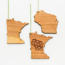 wisconsin minnesota ornaments gather registry