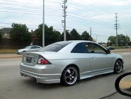 honda civic modified white modified cars for good picture