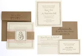 burlap wedding programs burlap wedding invitations and programs inspiration