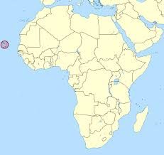 cape verde map world detailed location map of cape verde in africa cape verde