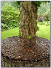 Bench Around Tree Plans Build Bench Around Tree Trunk Bench Best Home Design Ideas