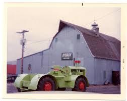 build a shop building the first steiger tractor octane press