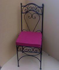 chaises en fer forgé pet chaise fer forge loubna jpg