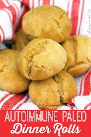 autoimmune paleo dinner rolls the curious coconut