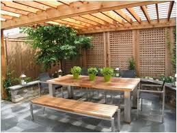 Privacy Fencing Ideas For Backyards Backyards Gorgeous Backyard Privacy Fence Ideas Modern Backyard