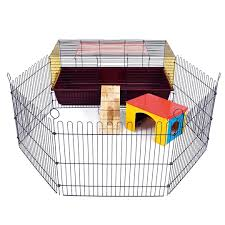 Cages For Guinea Pigs Little Friends Indoor Rabbit 100 Cage With Run Ideal For Rabbits