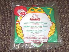 mcdonald u0027s kitty fast food u0026 cereal premiums ebay