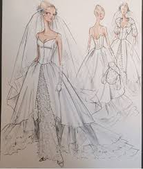 387 best wedding gown sketches images on pinterest fashion