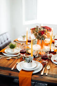Diy Thanksgiving Table Runner The Chic Site by 150 Best Happy T Hanksgiving Images On Pinterest Holiday Ideas