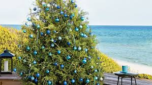9 ways to decorate with blue this christmas coastal living