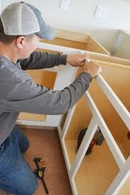 building kitchen cabinets how to build frames for kitchen cabinets easy diy