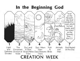 7 days of creation coloring pages intended to really encourage in
