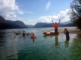 Slovenia Lake Swimming Holiday Lake Bled Slovenian Alps Swimtrek