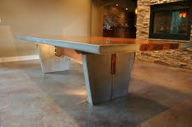 concrete dining room table home design ideas and pictures