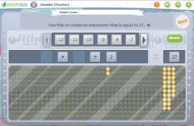 teacher tool of the month integer operations dreambox learning