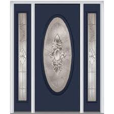 Steel Exterior Entry Doors Blue Steel Doors Front Doors The Home Depot
