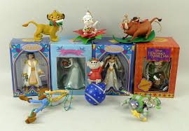 grolier disney ornaments decore