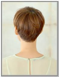 front and back views of chopped hair back views of short haircuts for women pixie haircuts for women