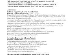 Sample Resume For Mechanical Design Engineer 22 Cover Letter For Design Engineer Mechanical Cover Letter For