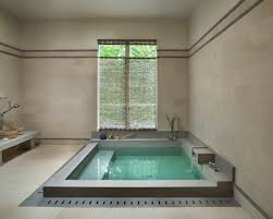 Roman Shades For Bathroom Architecture Nice Bathtub With Waterfall Faucet For Modern