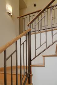 wood stair railing handrails for stairs interior wooden lovely