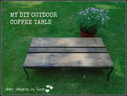 diy outdoor coffee table diy outdoor coffee table hometalk
