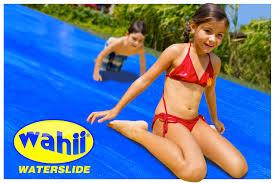 the wahii waterslide world u0027s biggest backyard water slide