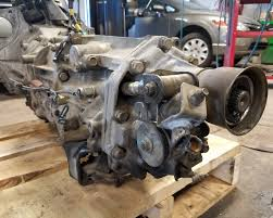 subaru stock turbo jdm subaru ej20 turbo awd transmission 5 speed stock 91