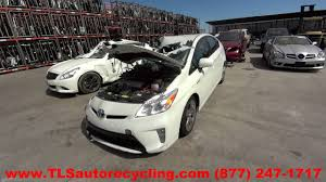 parting out 2013 toyota prius stock 6207br tls auto recycling