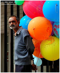Seeking Balloon Balloon Seller