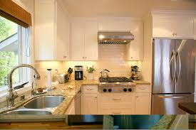 kitchen interior white wooden kitchen cabinet with cream marble