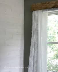 curtains with gray walls diy wood window valance christinas adventures