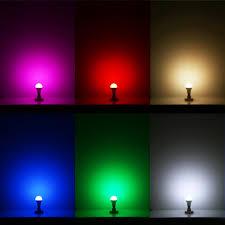 how colour changing led light bulb works lighting design inside