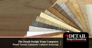 can you reface laminate kitchen cabinets cabinet refacing dunwoody comparing wood versus laminate