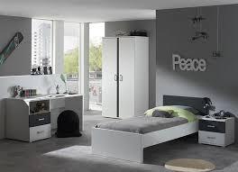 chambre garcon complete chambre complète enfant blanc et gris